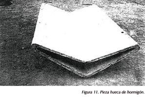 Pieza hueca de hormigón Edificio